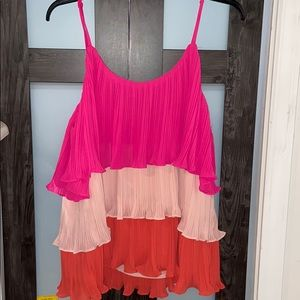 New with tags never worn tank/flowy blouse